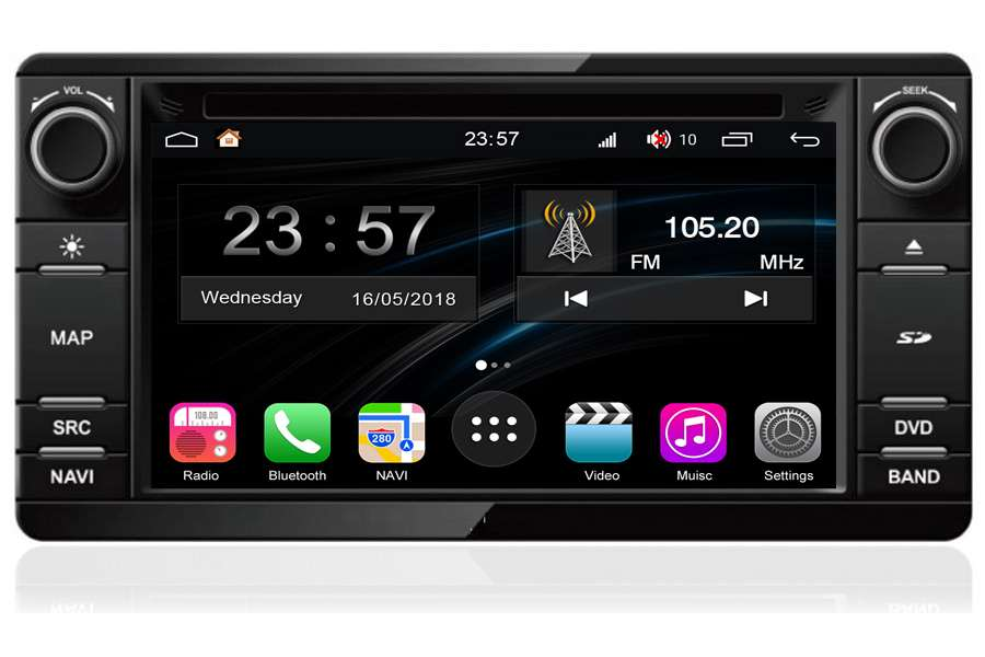 Mitsubishi Outlander/ASX 2013-2018 Autoradio GPS Aftermarket Android Head Unit Navigation Car Stereo