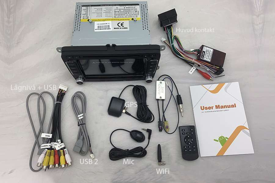 VW/Skoda/Seat  Autoradio GPS Aftermarket Android Head Unit Navigation Car Stereo