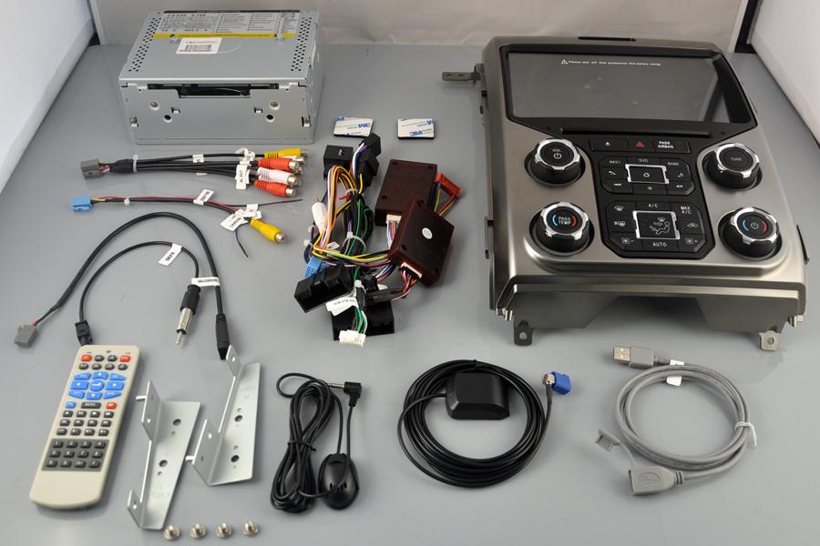 Ford F-150 2013-2014 Aftermarket Radio Upgrade