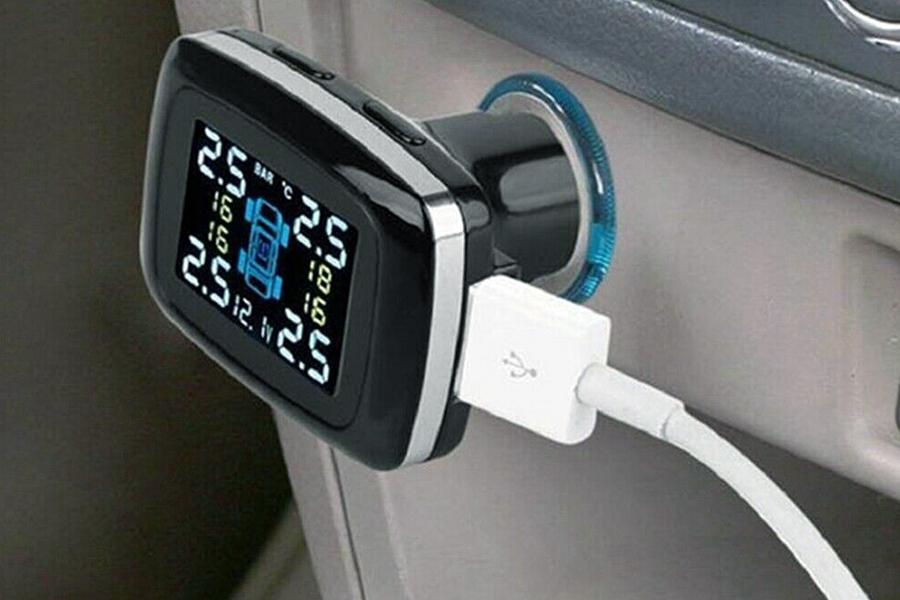 Cigarette Lighter Tire Pressure Monitoring System