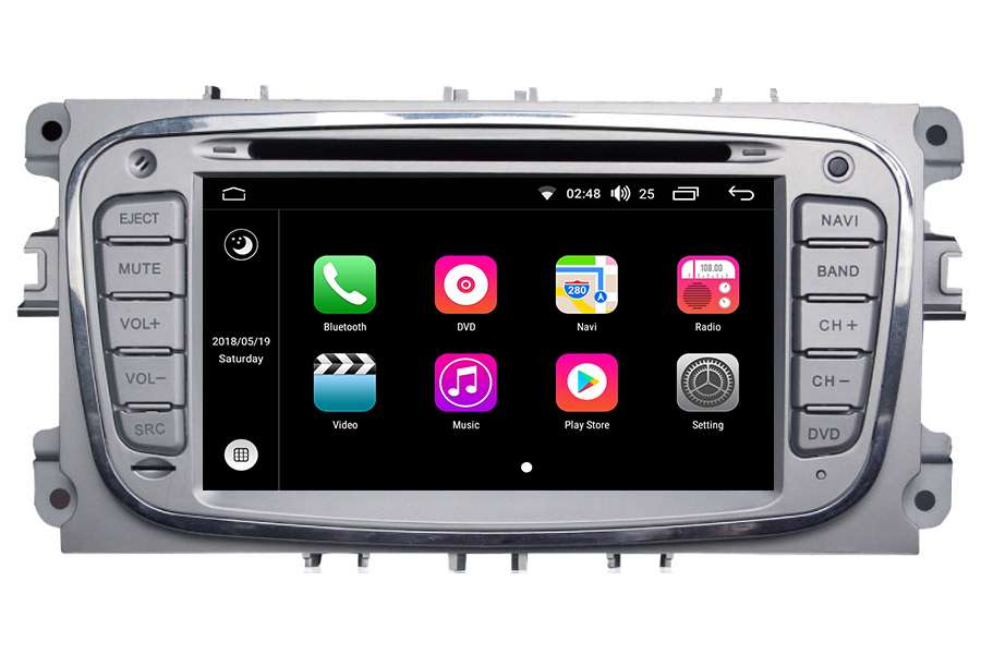 Ford Focus/Mondeo/S-Max/Galaxy 2007-2012 Autoradio GPS Aftermarket Android Head Unit Navigation Car Stereo