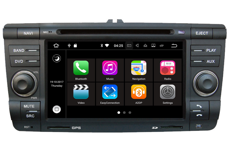Skoda Laura/Octavia 2004-2009 Autoradio GPS Aftermarket Android Head Unit Navigation Car Stereo