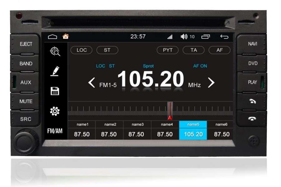 Peugeot 307 2001-2011 Autoradio GPS Aftermarket Android Head Unit Navigation Car Stereo