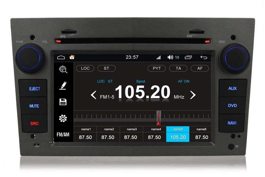 Opel Astra/Vivaro/Zafira/Vectra 2003-2011 Autoradio GPS Aftermarket Android Head Unit Navigation Car Stereo