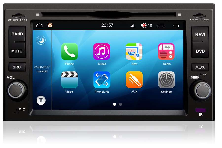 Kia Sorento 2003-2009 Autoradio GPS Aftermarket Android Head Unit Navigation Car Stereo