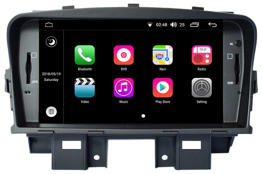 Chevrolet Cruze 2008-2016 Autoradio GPS Aftermarket Android Head Unit Navigation Car Stereo