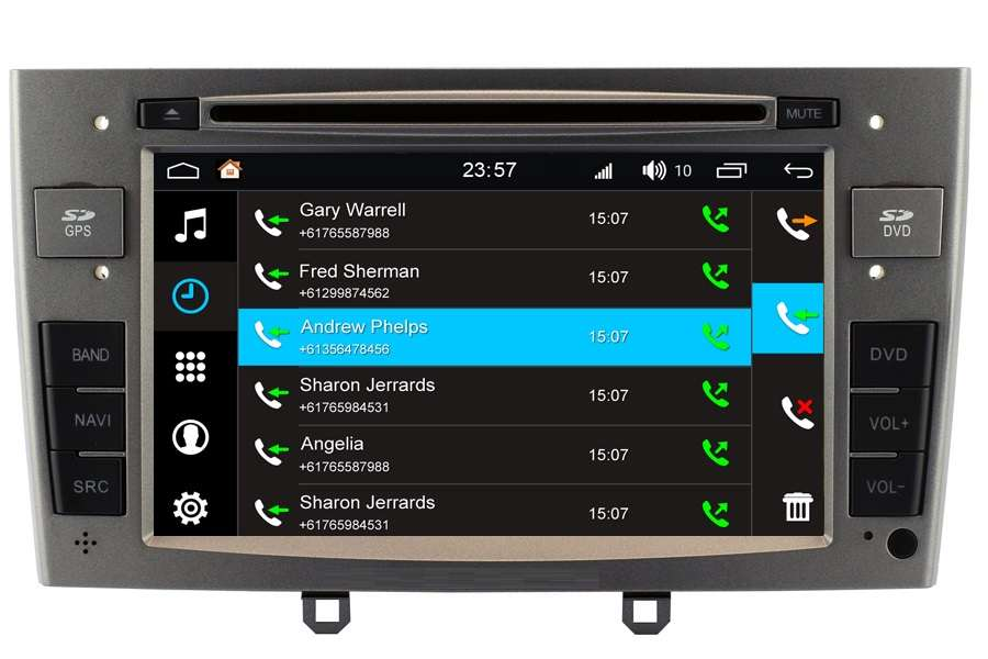 Peugeot 308/RCZ 2008-2013 Autoradio GPS Aftermarket Android Head Unit Navigation Car Stereo