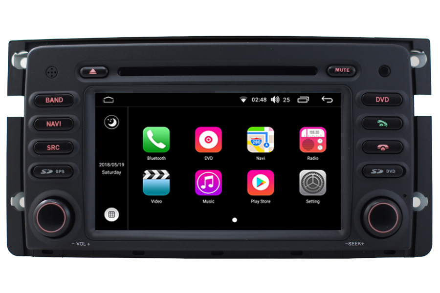 Smart Fortwo/Forfour 2007-2010 Autoradio GPS Aftermarket Android Head Unit Navigation Car Stereo