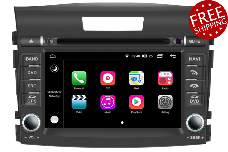 Honda CR-V 2012-2016 Autoradio GPS Aftermarket Android Head Unit Navigation Car Stereo