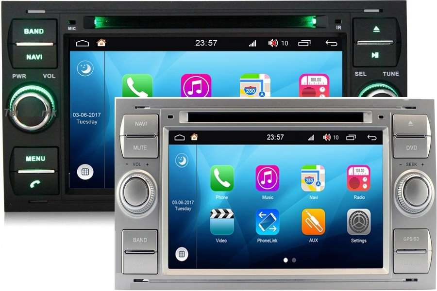 Ford Focus/C-Max/Kuga 2000-2011 Autoradio GPS Aftermarket Android Head Unit Navigation Car Stereo