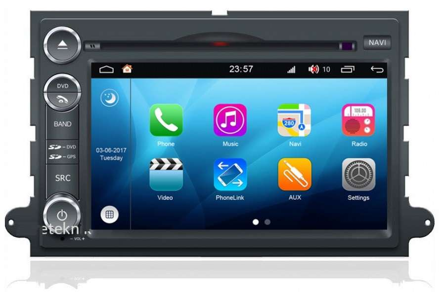 Ford Explorer/Fusion/Mustang/EDGE/Expedition Autoradio GPS Aftermarket Android Head Unit Navigation Car Stereo