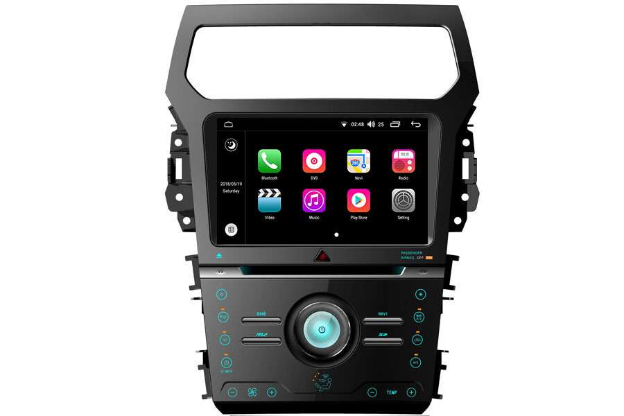 Ford Explorer 2010-2015 Autoradio GPS Aftermarket Android Head Unit Navigation Car Stereo