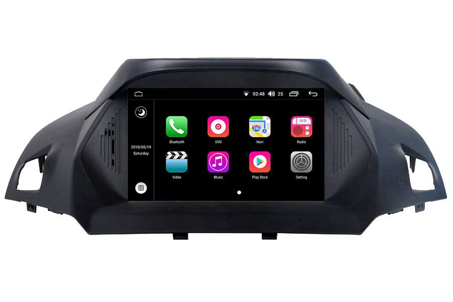 Ford Kuga 2013-2014 Autoradio GPS Aftermarket Android Head Unit Navigation Car Stereo