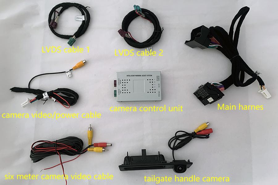 BMW MGU ID7 Aftermarket Rearview Camera System